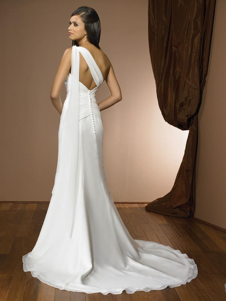 Allure 2309 White/Silver size 10 In Stock Wedding Dress - Tom's Bridal