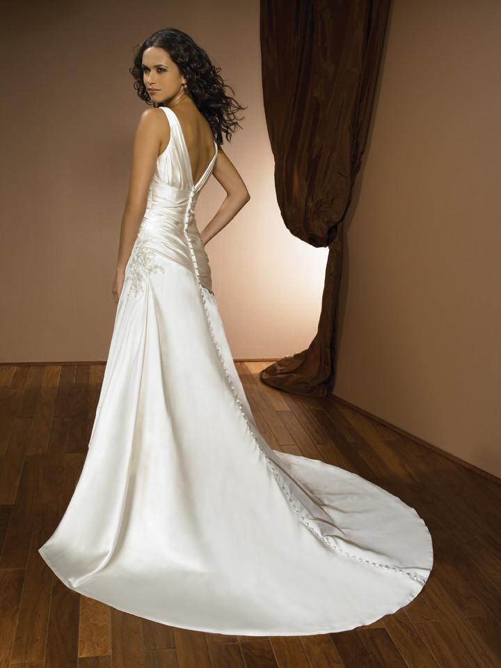 Allure 2320 Ivory/Silver size 14 In Stock Wedding Dress - Tom's Bridal