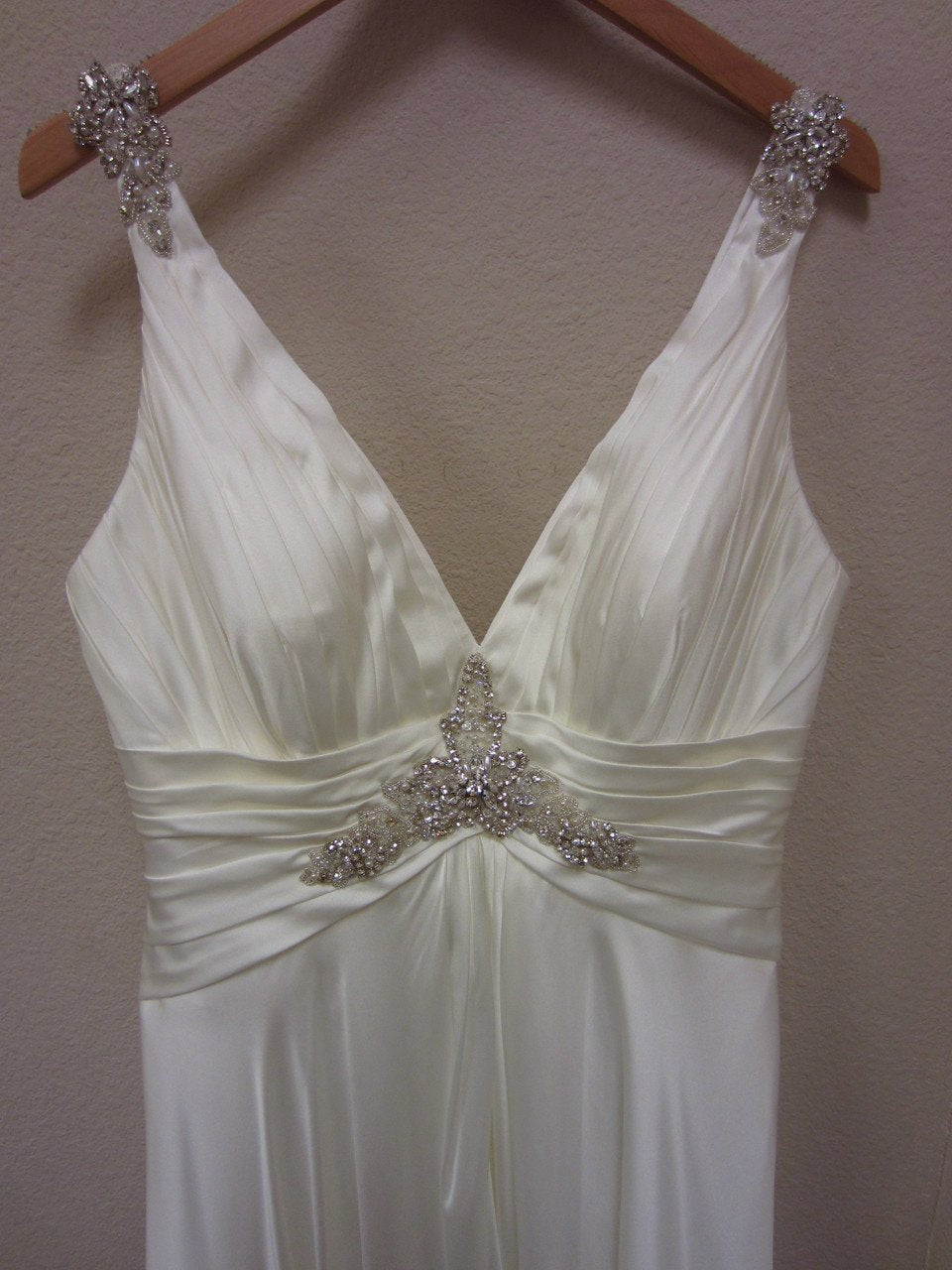 Allure 2361 Ivory/Silver size 14 In Stock Wedding Dress - Tom's Bridal