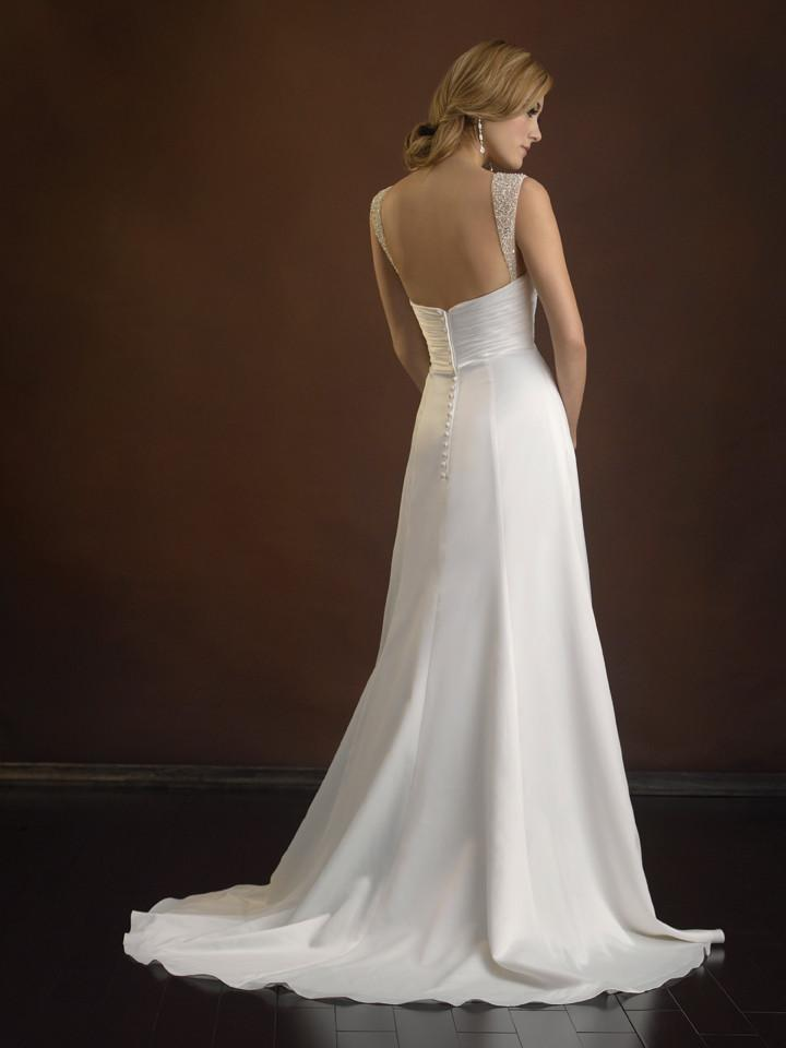 Allure 2363 Ivory size 8 In Stock Wedding Dress