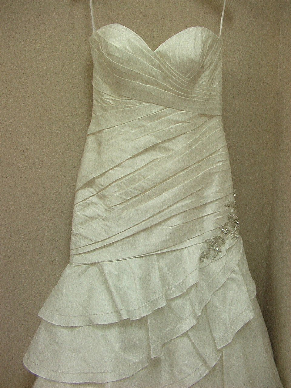 Allure 2451 Ivory/Silver size 12 In Stock Wedding Dress - Tom's Bridal