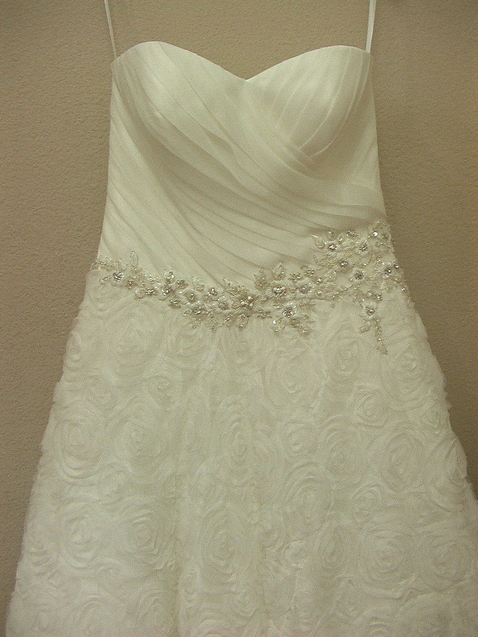 Allure 2463 Ivory/Silver size 12 In Stock Wedding Dress - Tom's Bridal