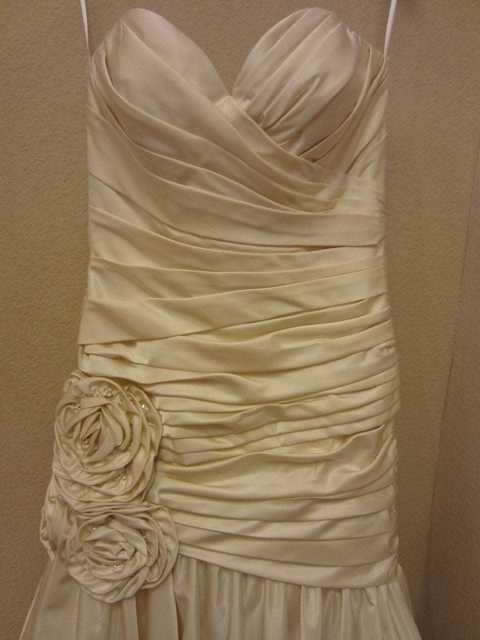 Allure 2503 Cream/Silver size 10 In Stock Wedding Dress - Tom's Bridal