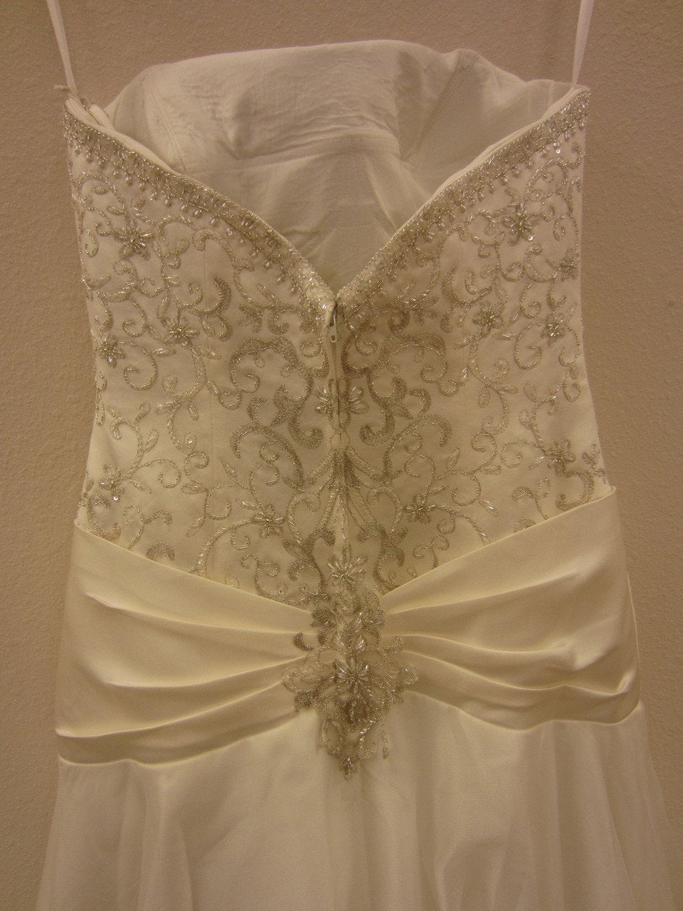 Allure 8362 Ivory/Silver size 10 In Stock Wedding Dress - Tom's Bridal