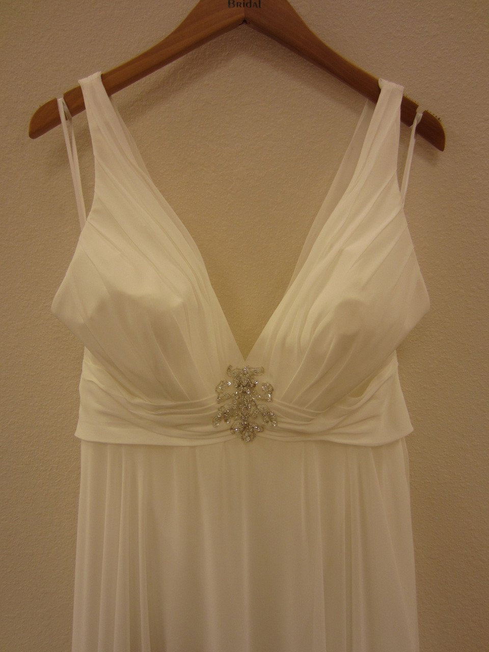 Allure 899 Ivory/Silver size 12 In Stock Wedding Dress - Tom's Bridal