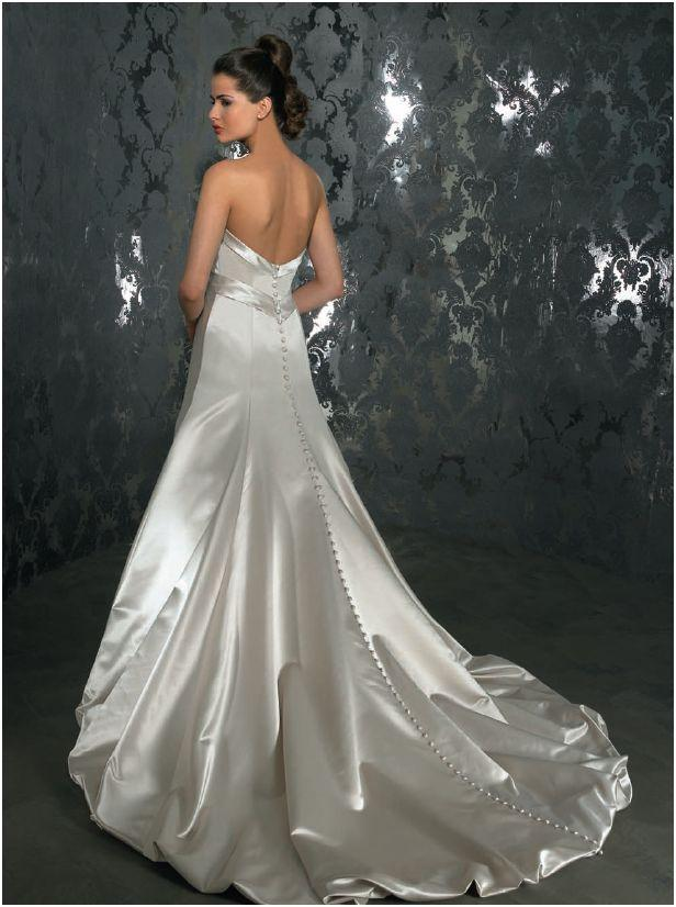 Allure P789 Pearl size 8 In Stock Wedding Dress - Tom's Bridal