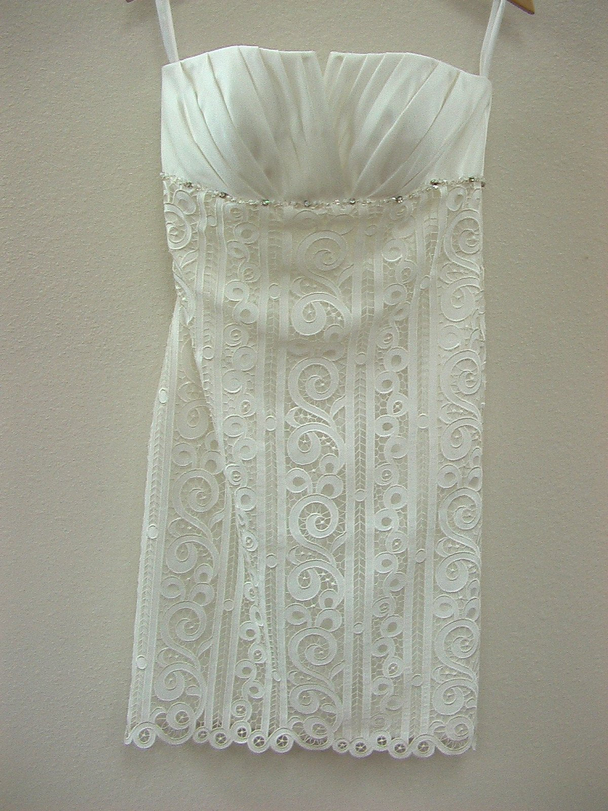 Dere Kiang 11067 Ivory/Silver size 8 In Stock Wedding Dress - Tom's Bridal
