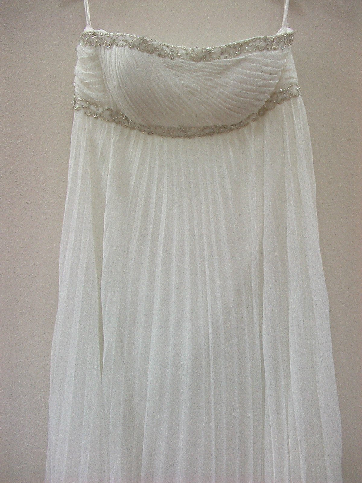 Dere Kiang 1191012 Ivory/Silver size 16 In Stock Wedding Dress - Tom's Bridal