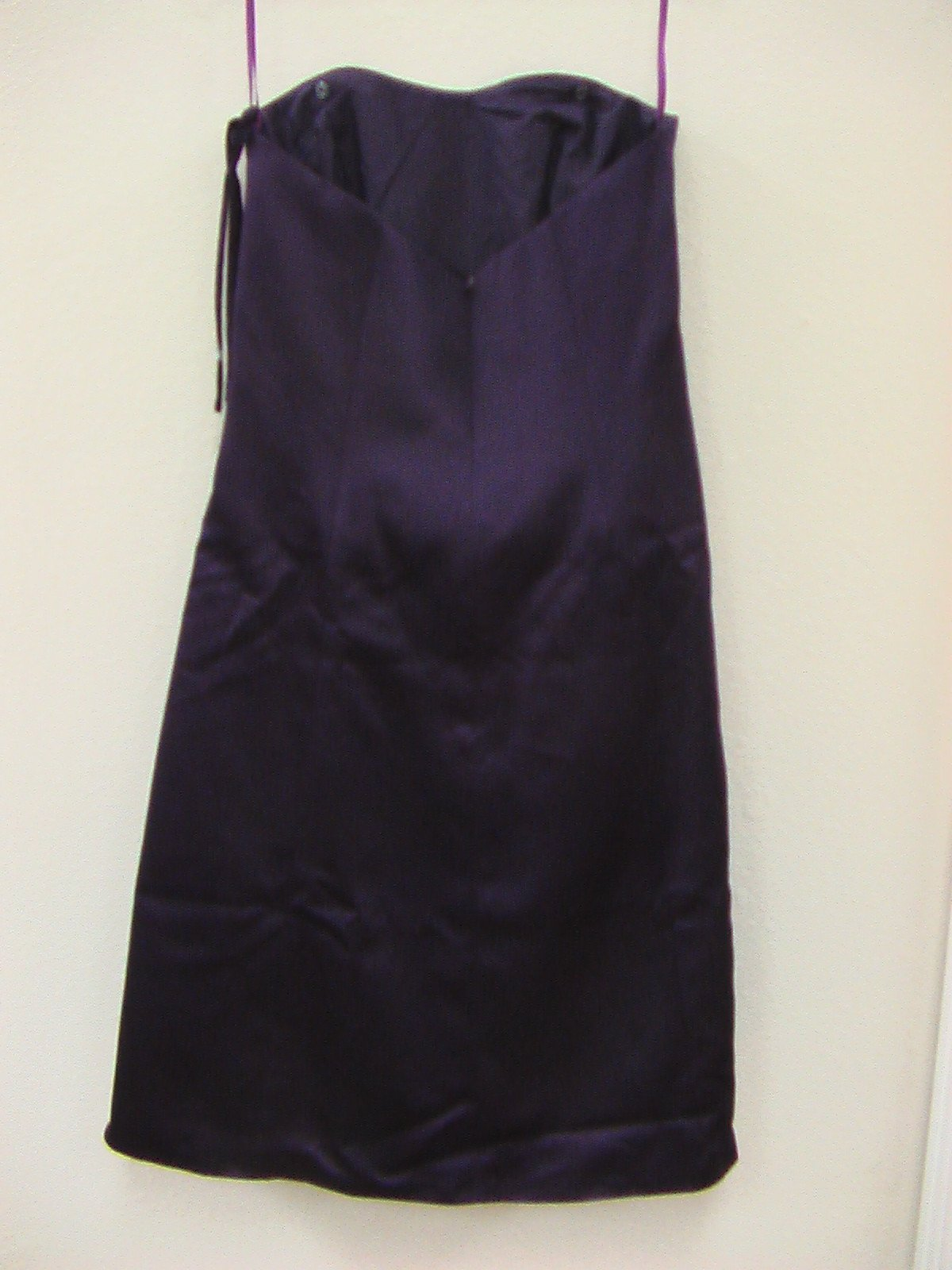 Impression Bridesmaid 1765 Eggplant 14 In Stock Bridesmaid Dress Formal Gown-NEW - Tom's Bridal