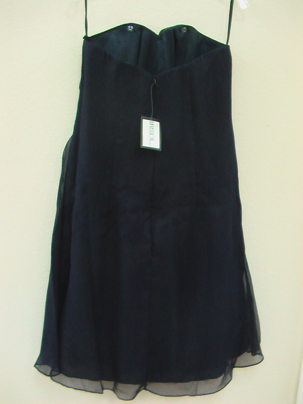 Impression Bridesmaid 20004 Midnight size 16 In Stock Bridesmaid Dress Formal Gown-NEW - Tom's Bridal