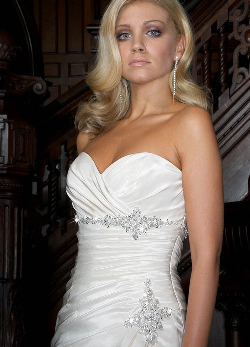 Impression Bridal 3010 White size 12 In Stock Wedding Dress