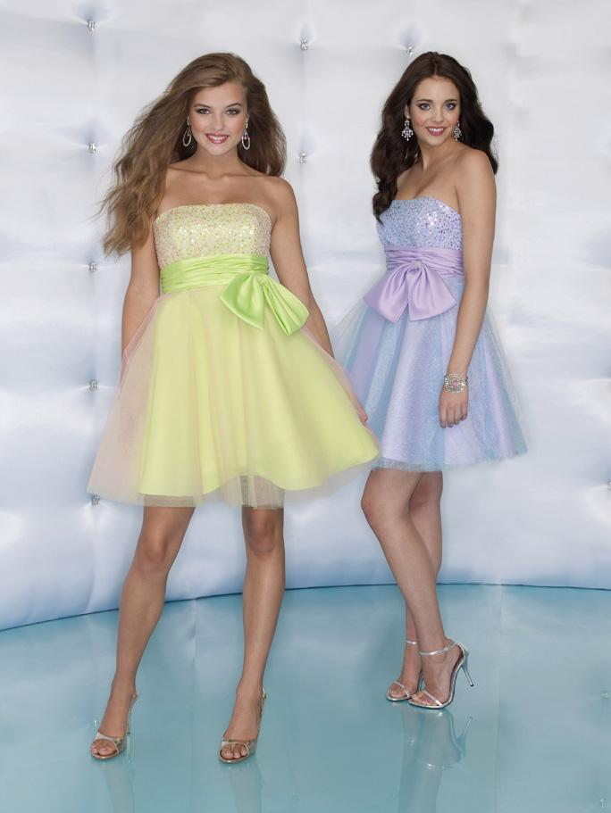 Sticks and Stones 9024 Pink Lemonade size 6 In Stock Homecoming Dress - Tom's Bridal
