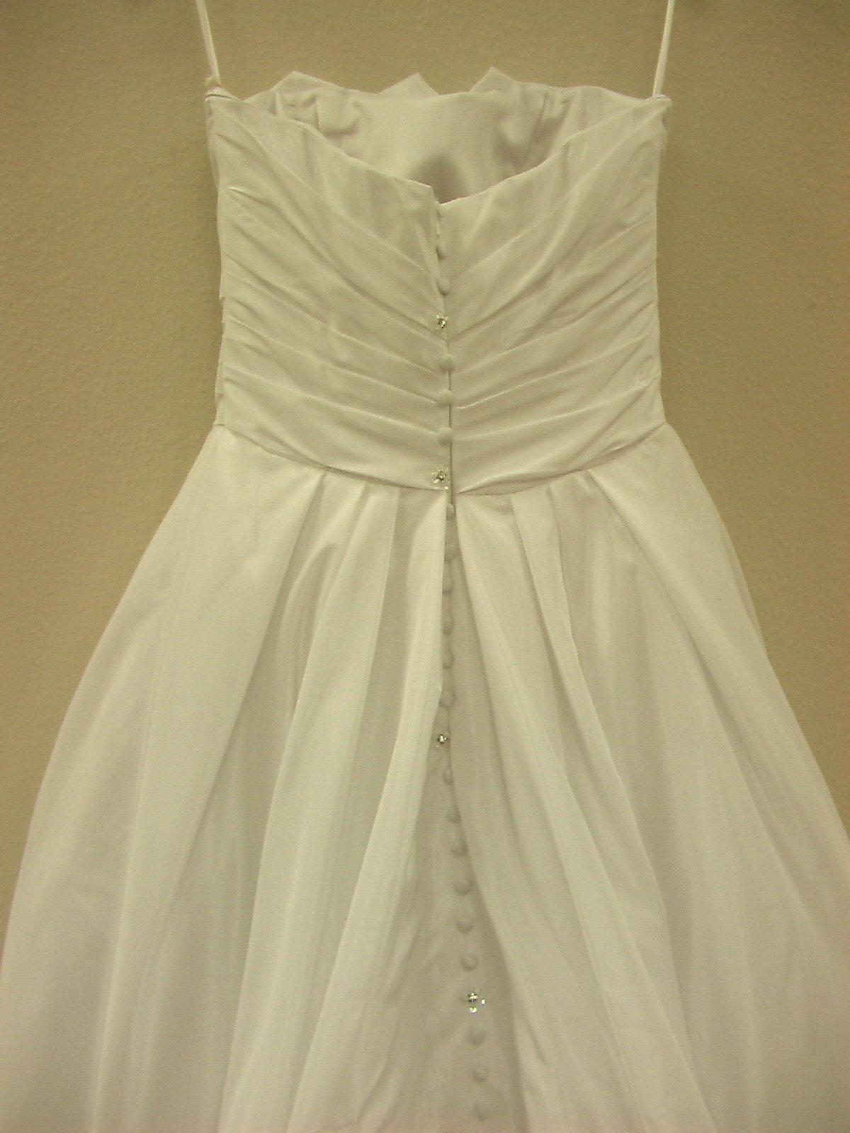 Jacquelin Exclusive 19857 White/Silver size 8 In Stock Wedding Dress - Tom's Bridal