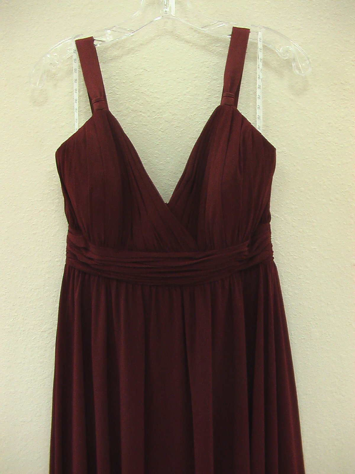 Jasmine B2 B1094 Cranberry size 8 In Stock Bridesmaid Dress - Tom's Bridal