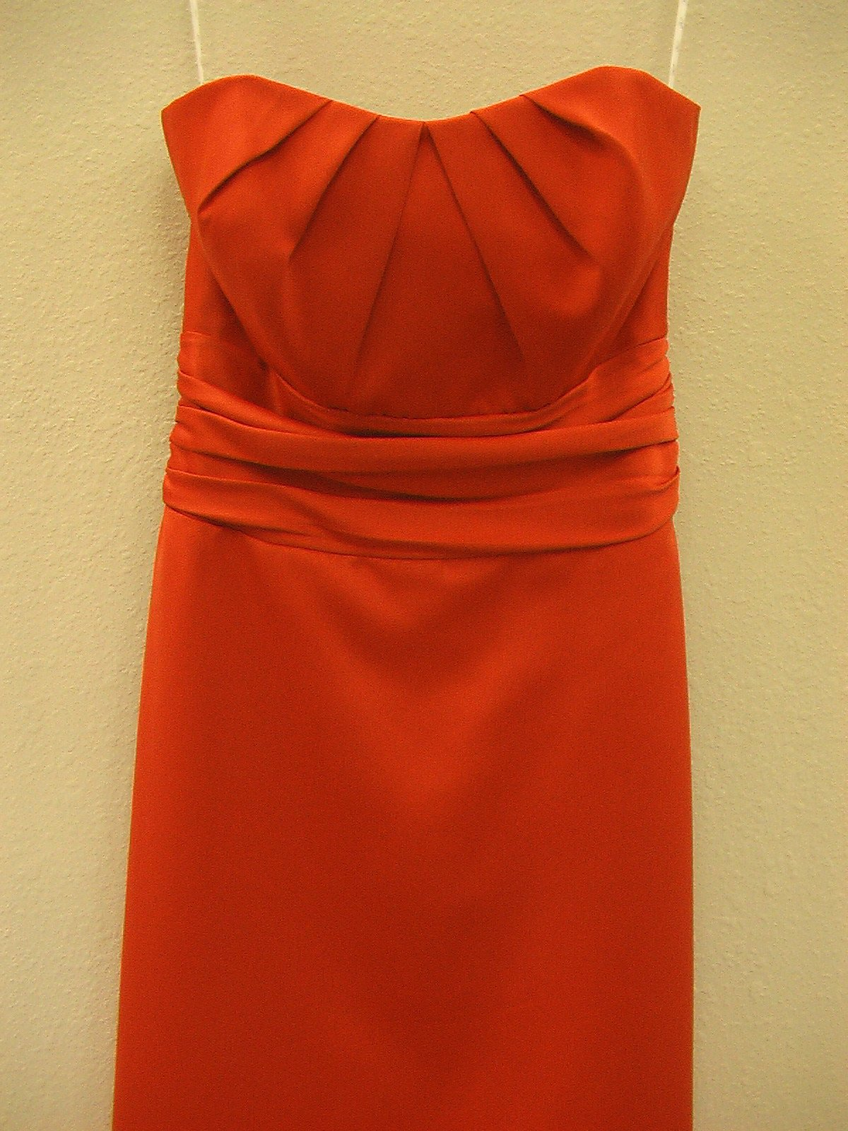 Jasmine B2 B2041 New Red 10 In Stock Bridesmaid Dress-NEW - Tom's Bridal