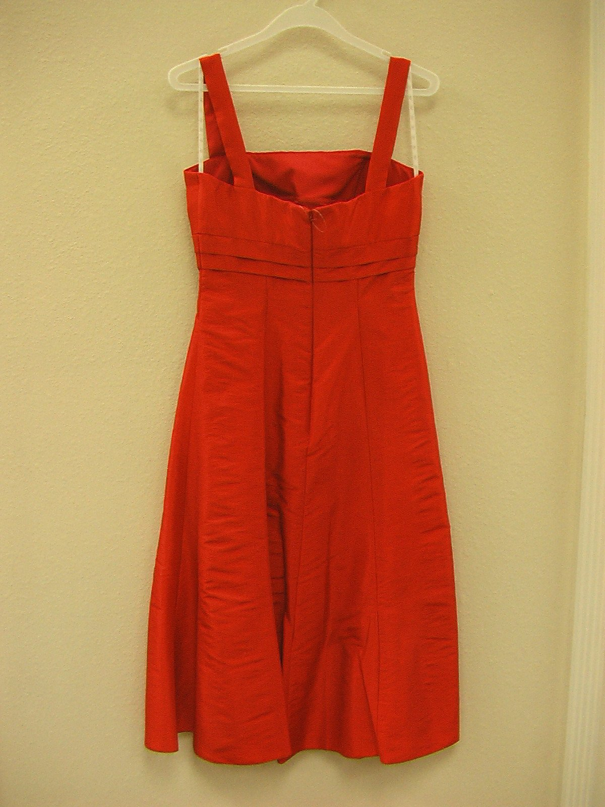 Jasmine B2 B2041 New Red size 28 Extra Long In Stock Bridesmaid Dress-NEW - Tom's Bridal