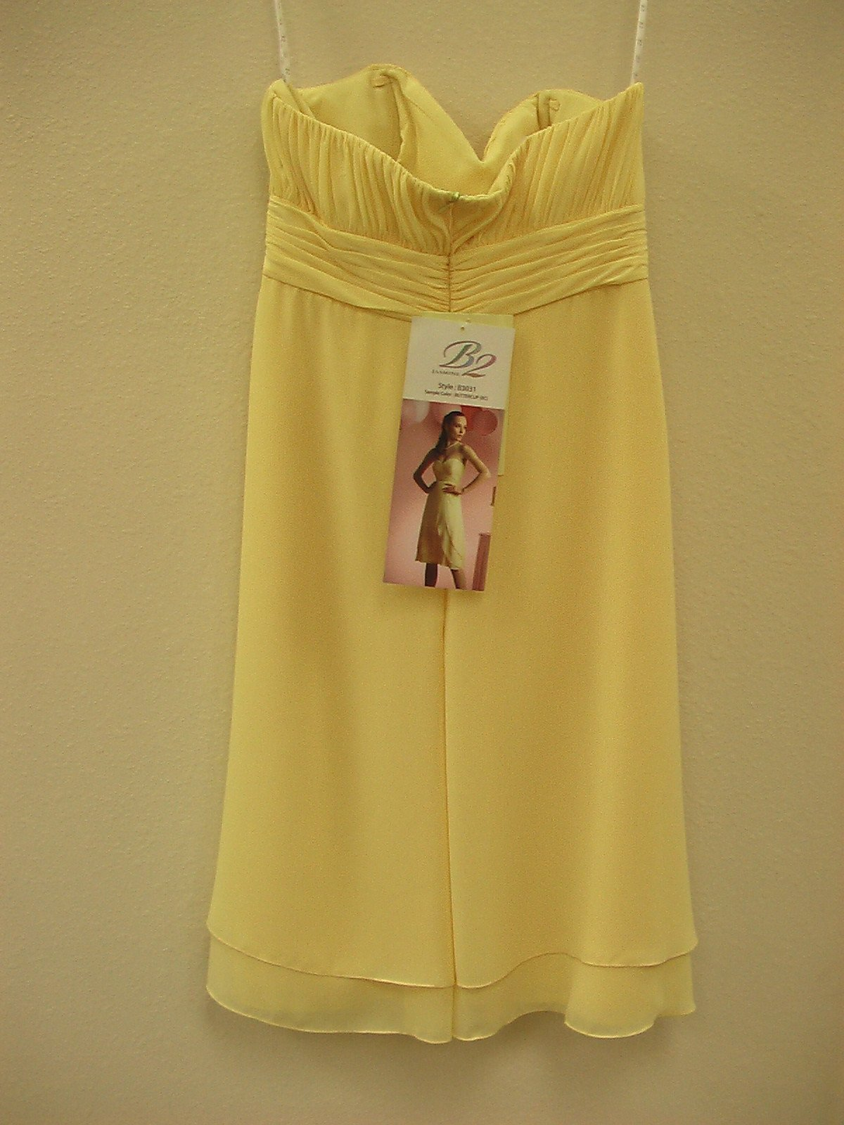Jasmine B2 B3031 Buttercup size 12 In Stock Bridesmaid Dress - Tom's Bridal