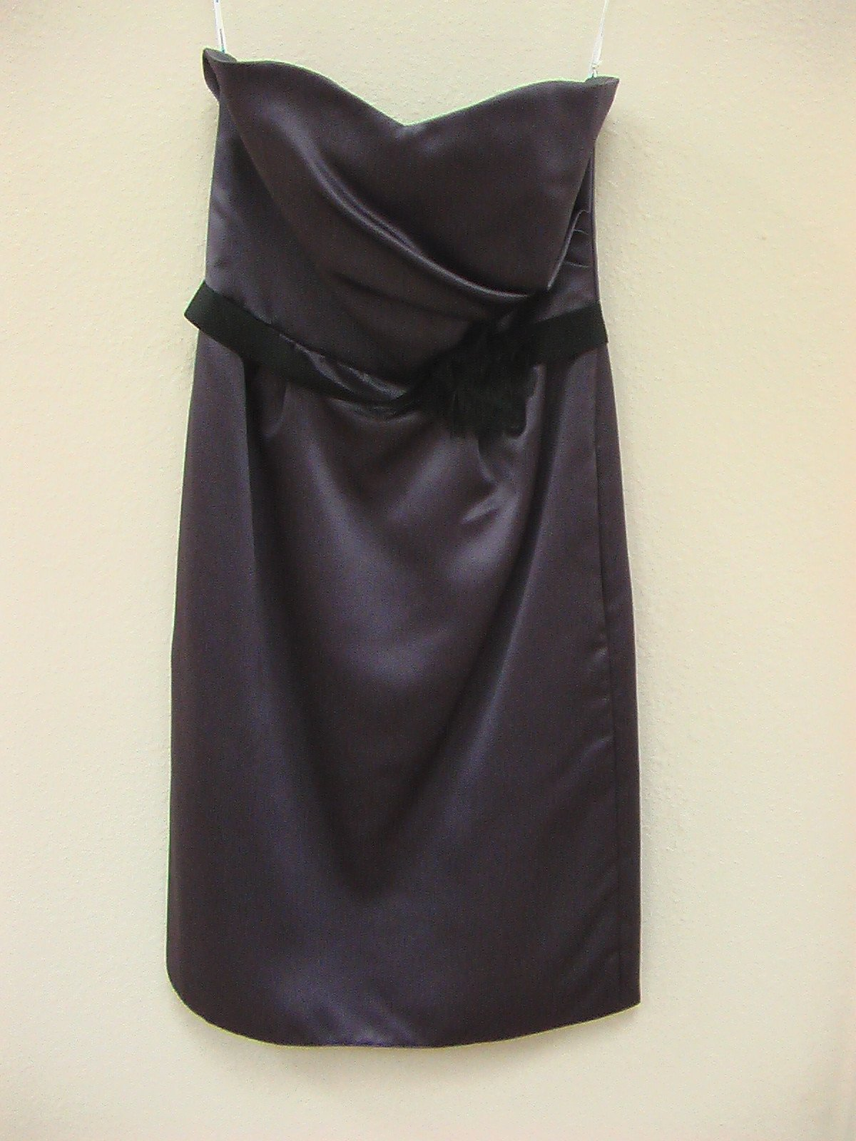 Jasmine P156009K Iron/Black size 6 In Stock Bridesmaid Dress - Tom's Bridal