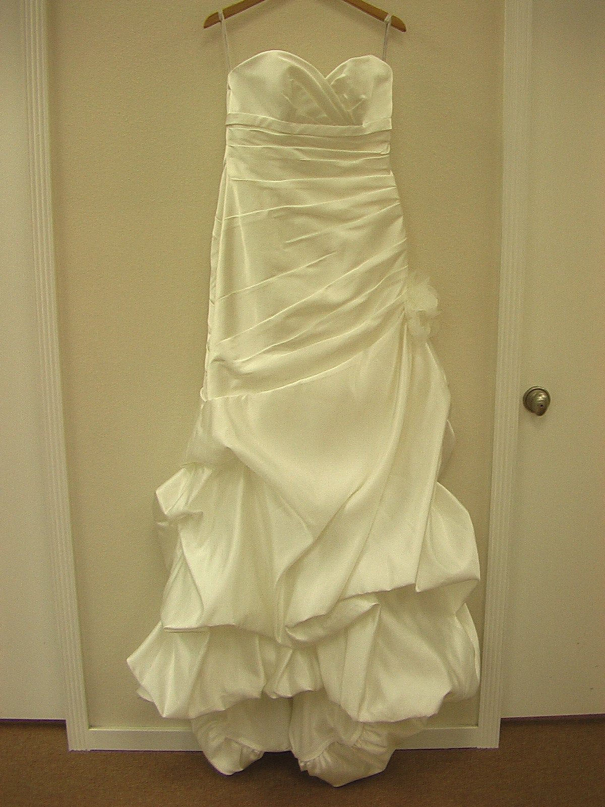 Moonlight T450 Ivory size 12 In Stock Wedding Dress - Tom's Bridal