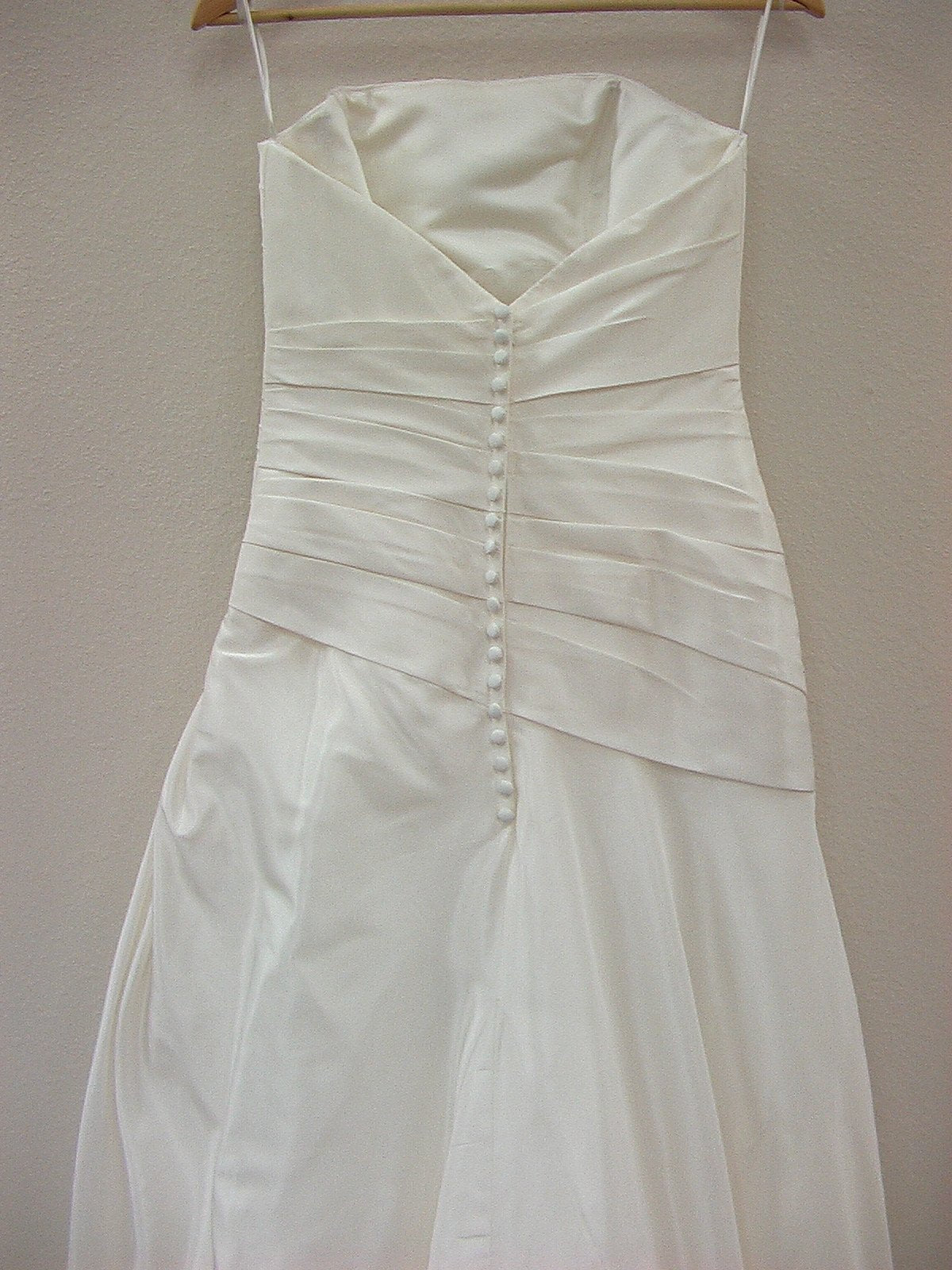 Mori Lee 1068 Ivory size 10 In Stock Wedding Dress - Tom's Bridal