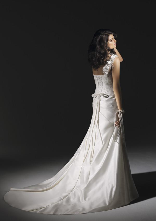 Mori Lee 1201 Natural size 10 In Stock Wedding Dress - Tom's Bridal