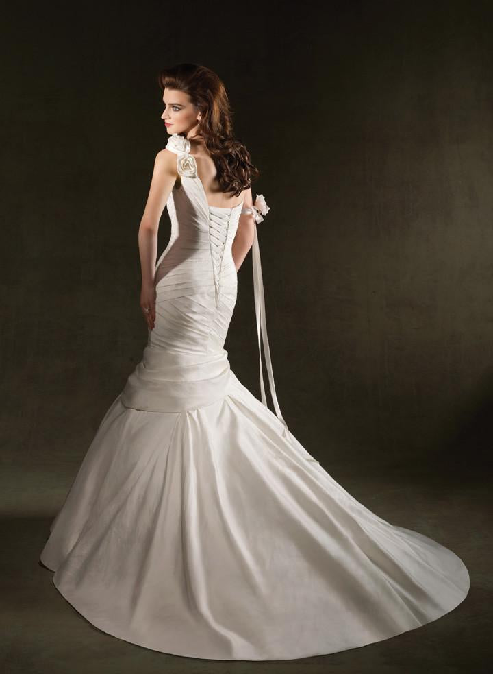 Mori Lee 1233 Natural size 10 In Stock Wedding Dress - Tom's Bridal