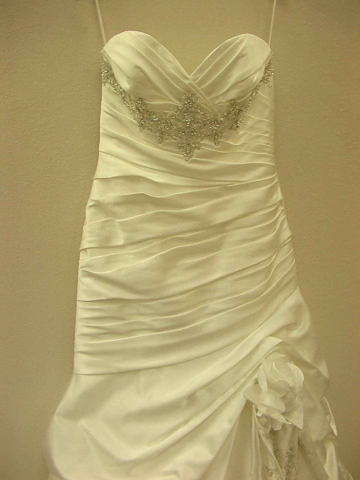 Mori Lee 1603 Ivory/Silver size 12 In Stock Wedding Dress