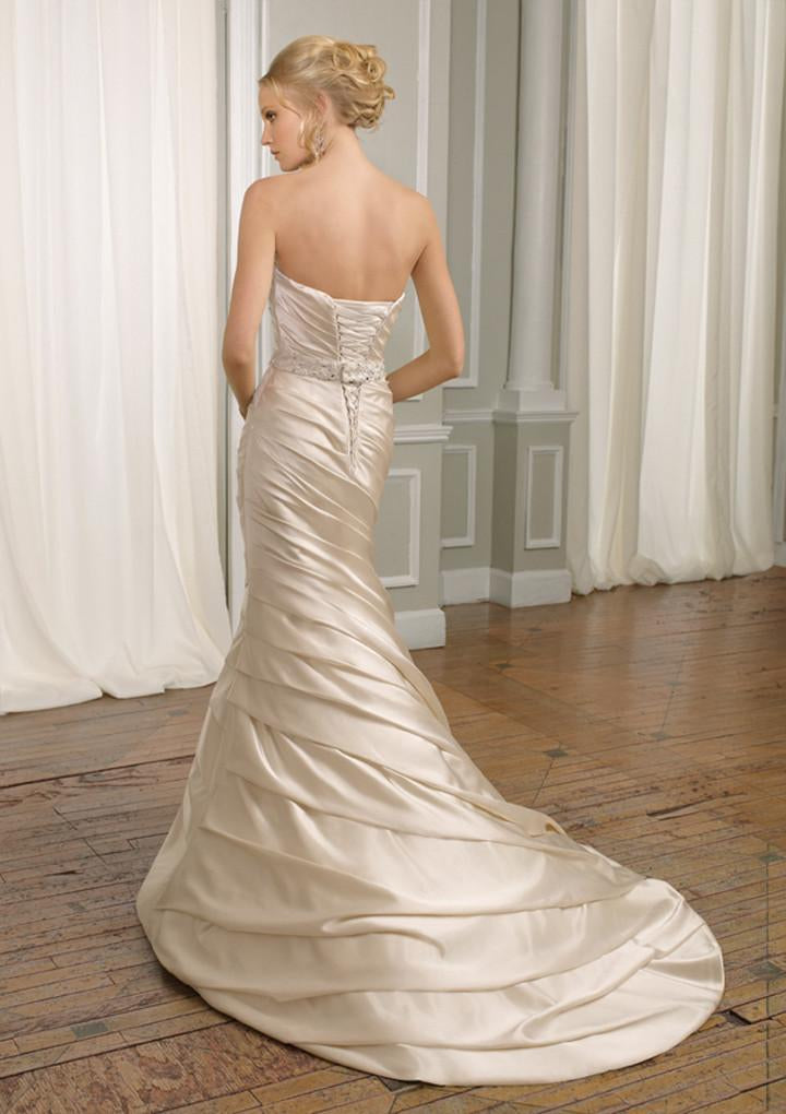 Mori Lee 1664 Ivory size 6 In Stock Wedding Dress - Tom's Bridal