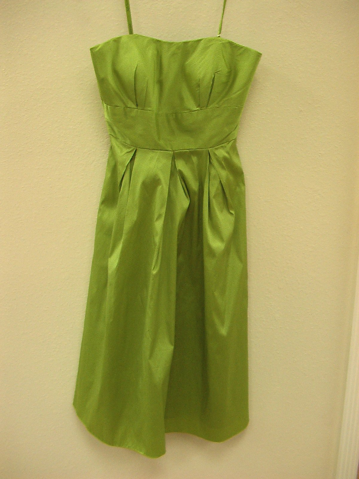 Mori Lee Angelina Faccenda 20106 Pistachio size 8 In Stock Bridesmaid Dress - Tom's Bridal