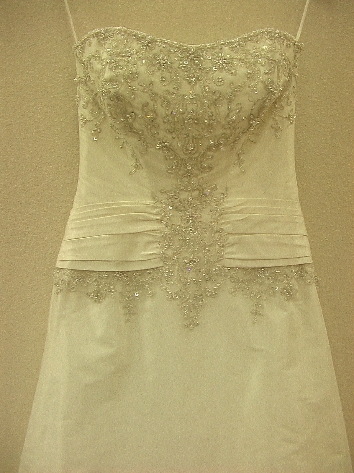 Mori Lee 2208 Ivory Silver Size 18 In Stock Wedding Dress