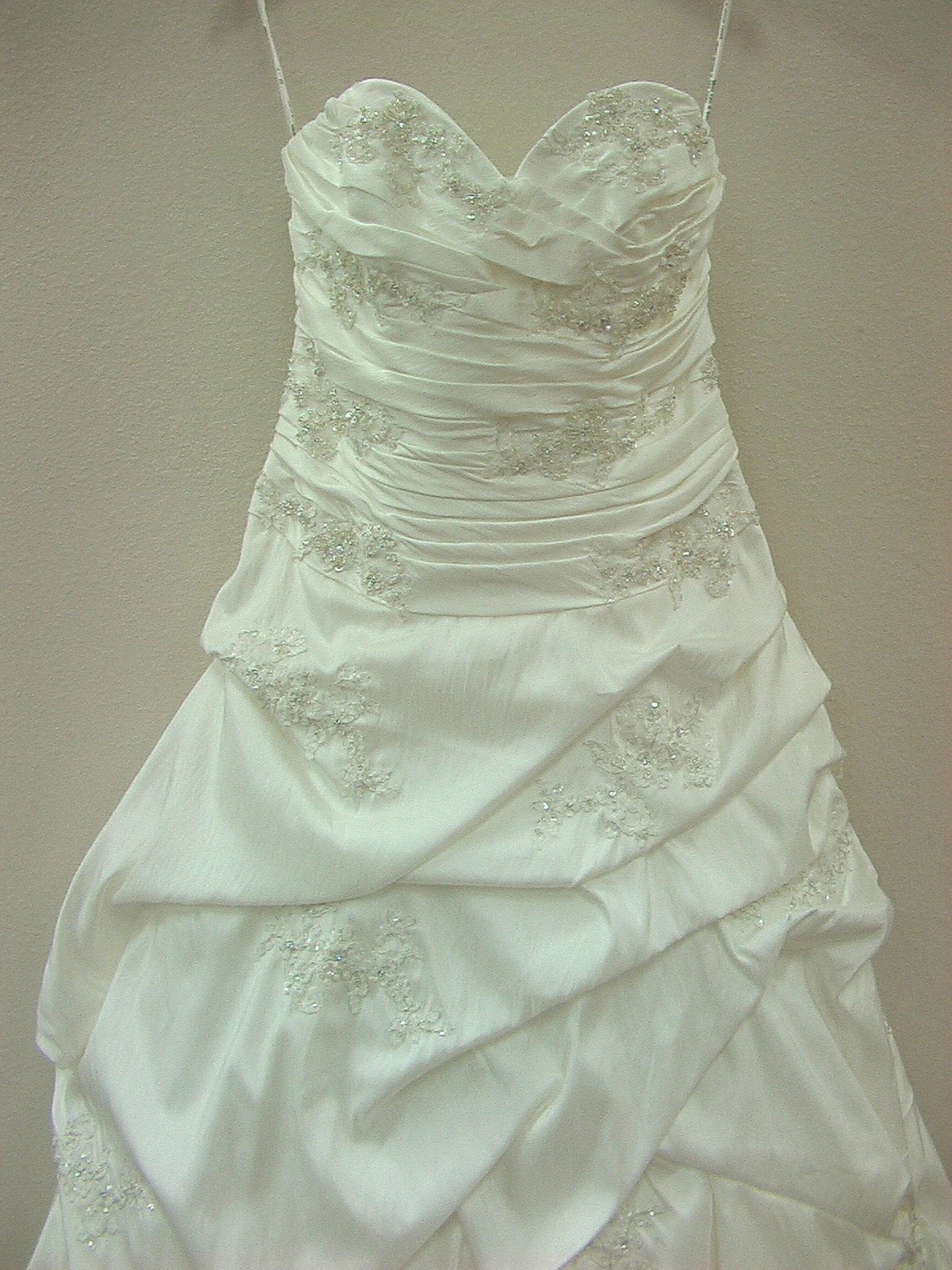 Mori Lee 2406 Ivory/Silver size 16 In Stock Wedding Dress