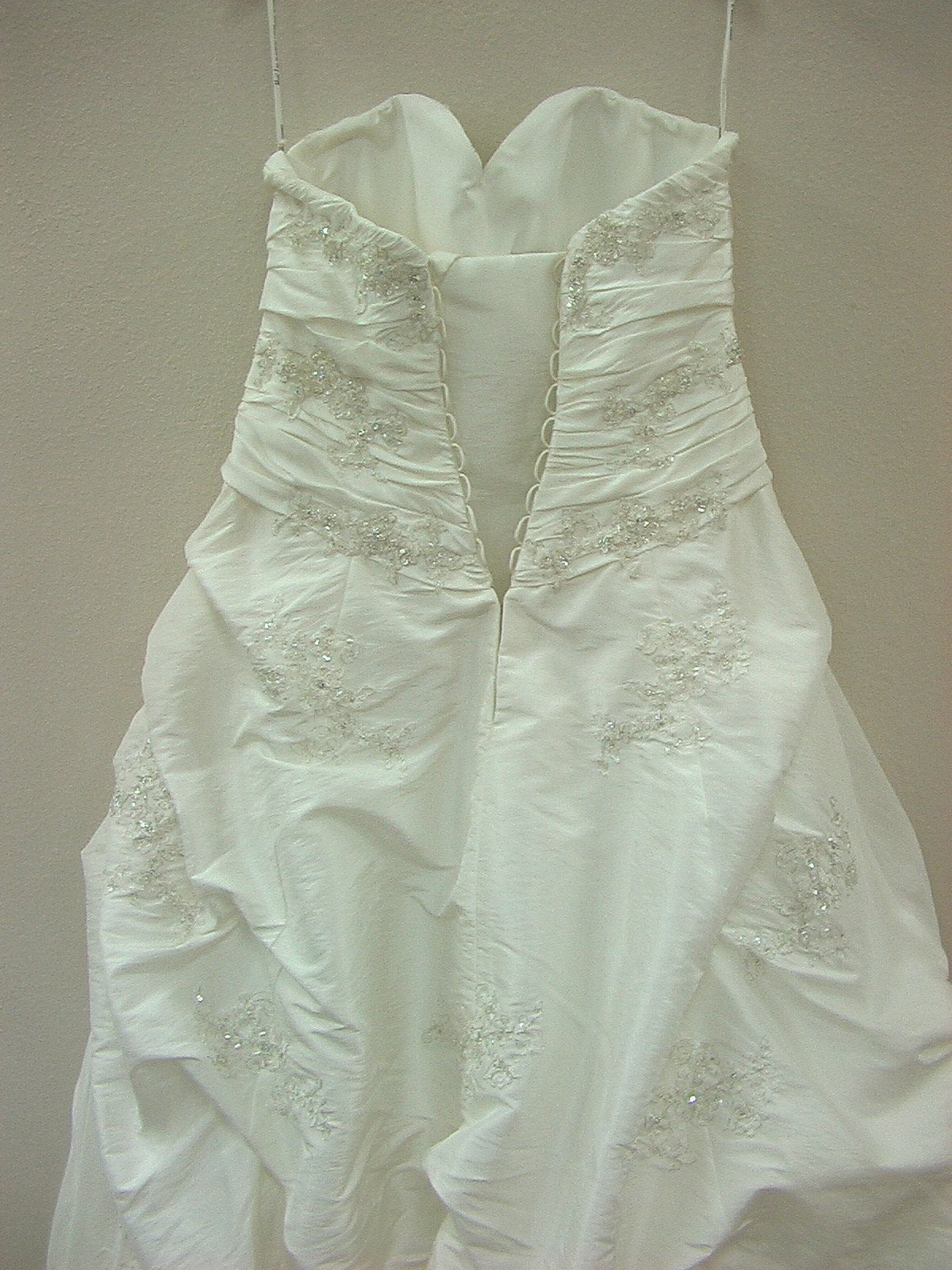 Mori Lee 2406 Ivory/Silver size 16 In Stock Wedding Dress - Tom's Bridal