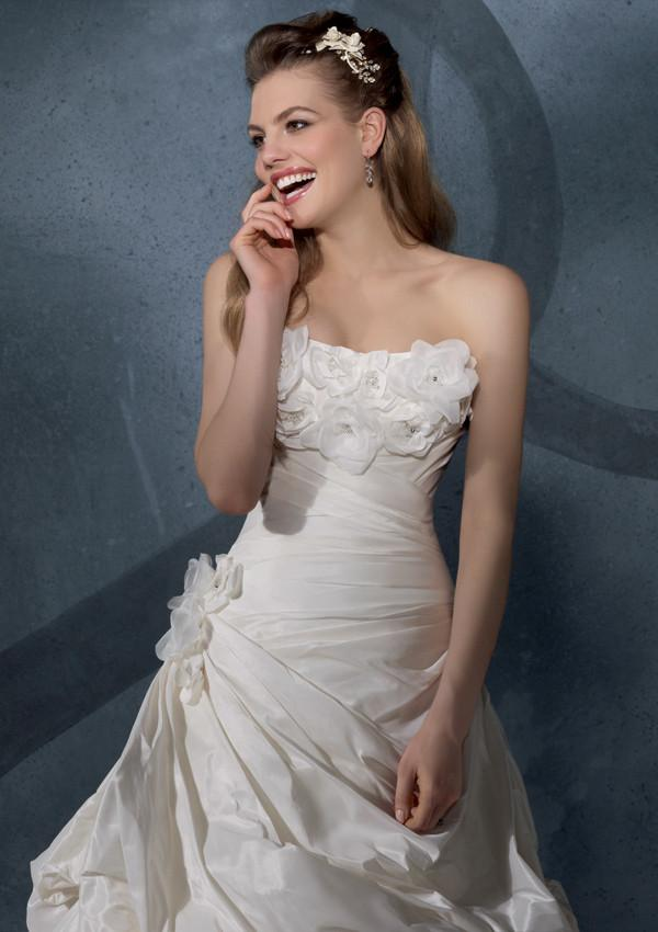 Mori Lee 2904 Ivory size 8 In Stock Wedding Dress - Tom's Bridal