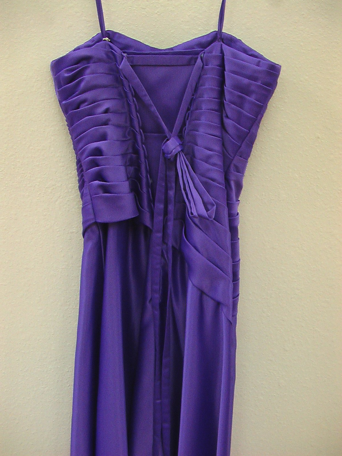 Mori Lee 292 Amethyst size 14 In Stock Bridesmaid Dress - Tom's Bridal