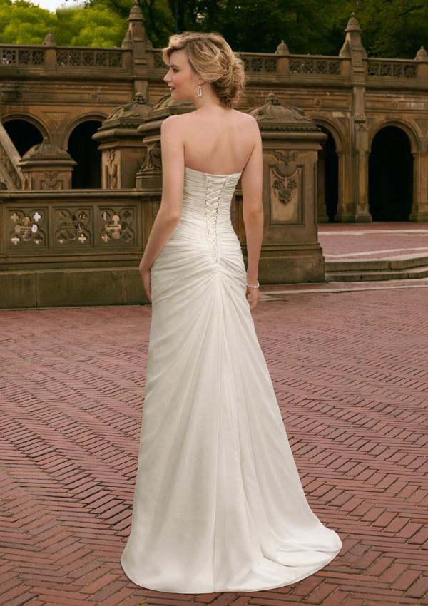 Mori Lee Voyage 6705 Ivory size 10 In Stock Destination Beach Wedding Dress