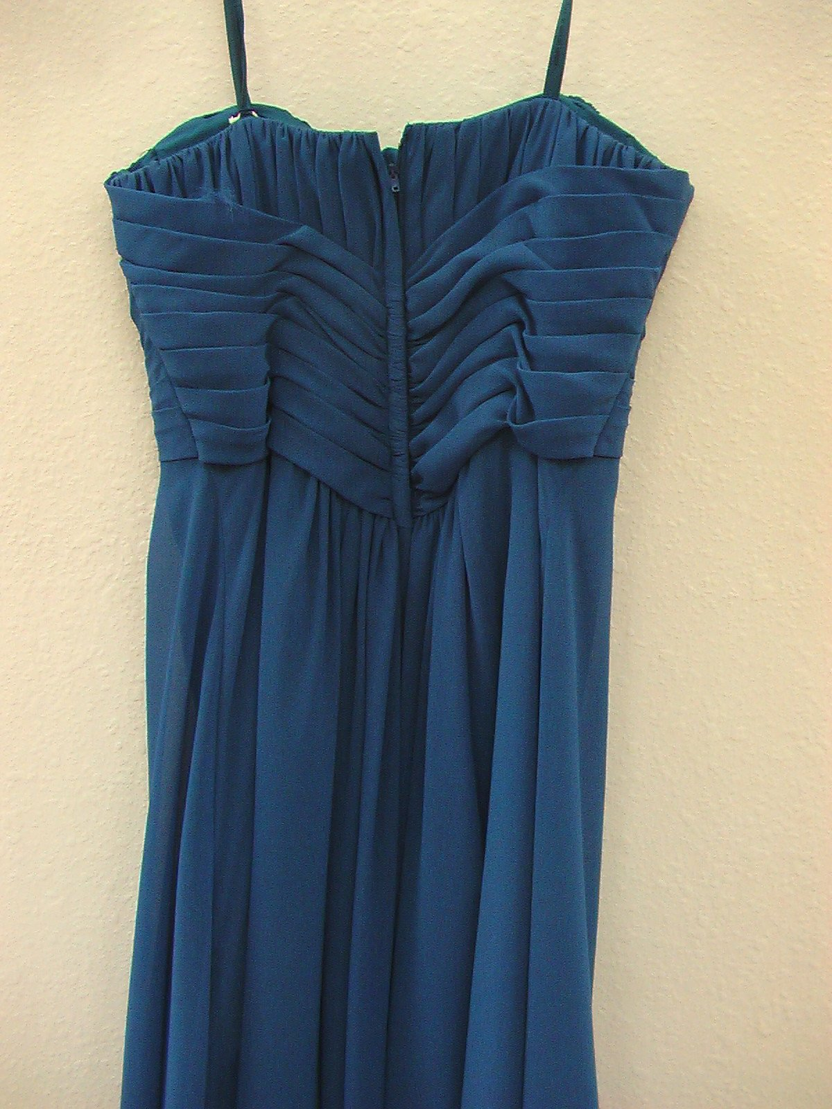 Mori Lee 852 Marine size 8 In Stock Bridesmaid Dress - Tom's Bridal