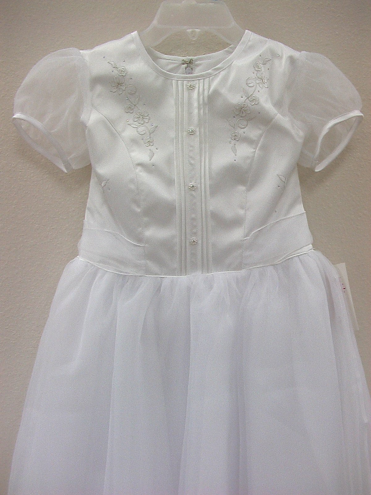Nikolina 533 White size 12 In Stock Communion Dress-NEW - Tom's Bridal