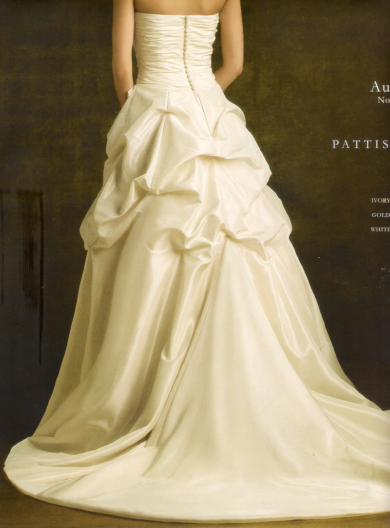 Pattis 1652 Aurore Gold size 12 In Stock Wedding Dress - Tom's Bridal