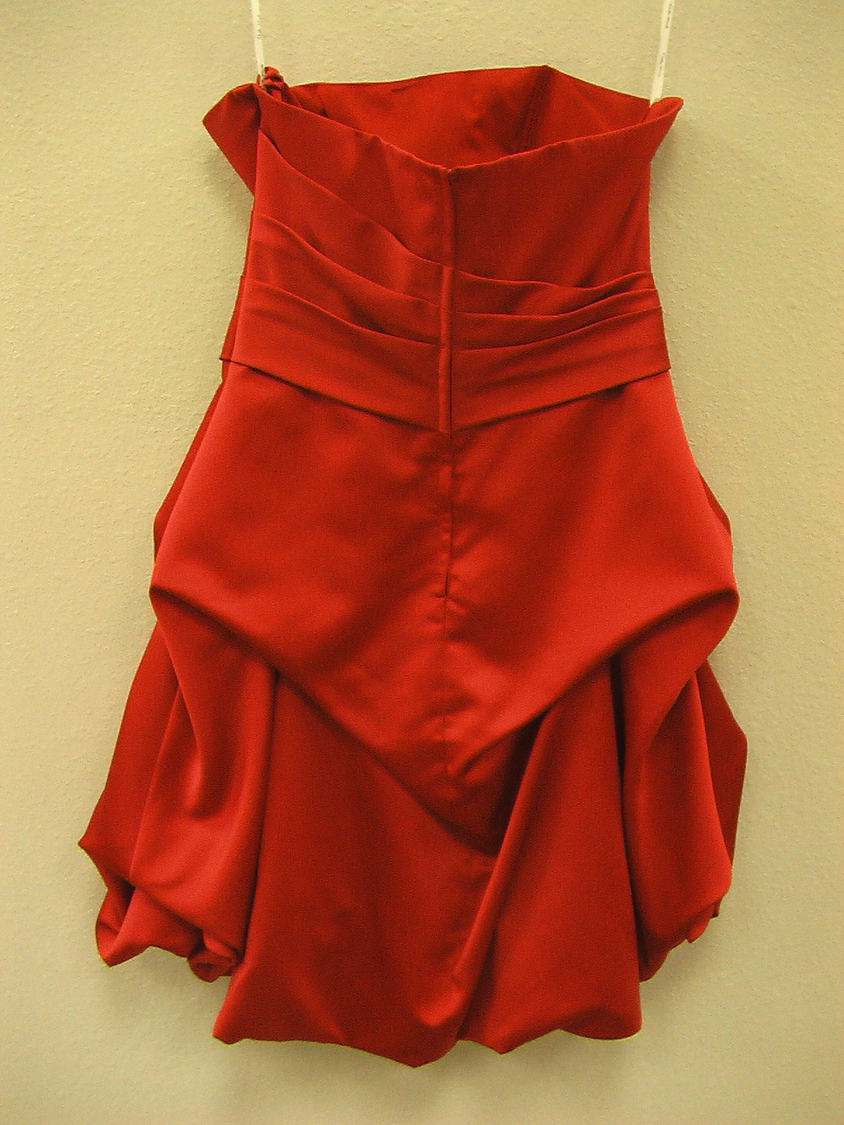 Pretty Maids 22336 Red size 12 In Stock Bridesmaid Dress - Tom's Bridal