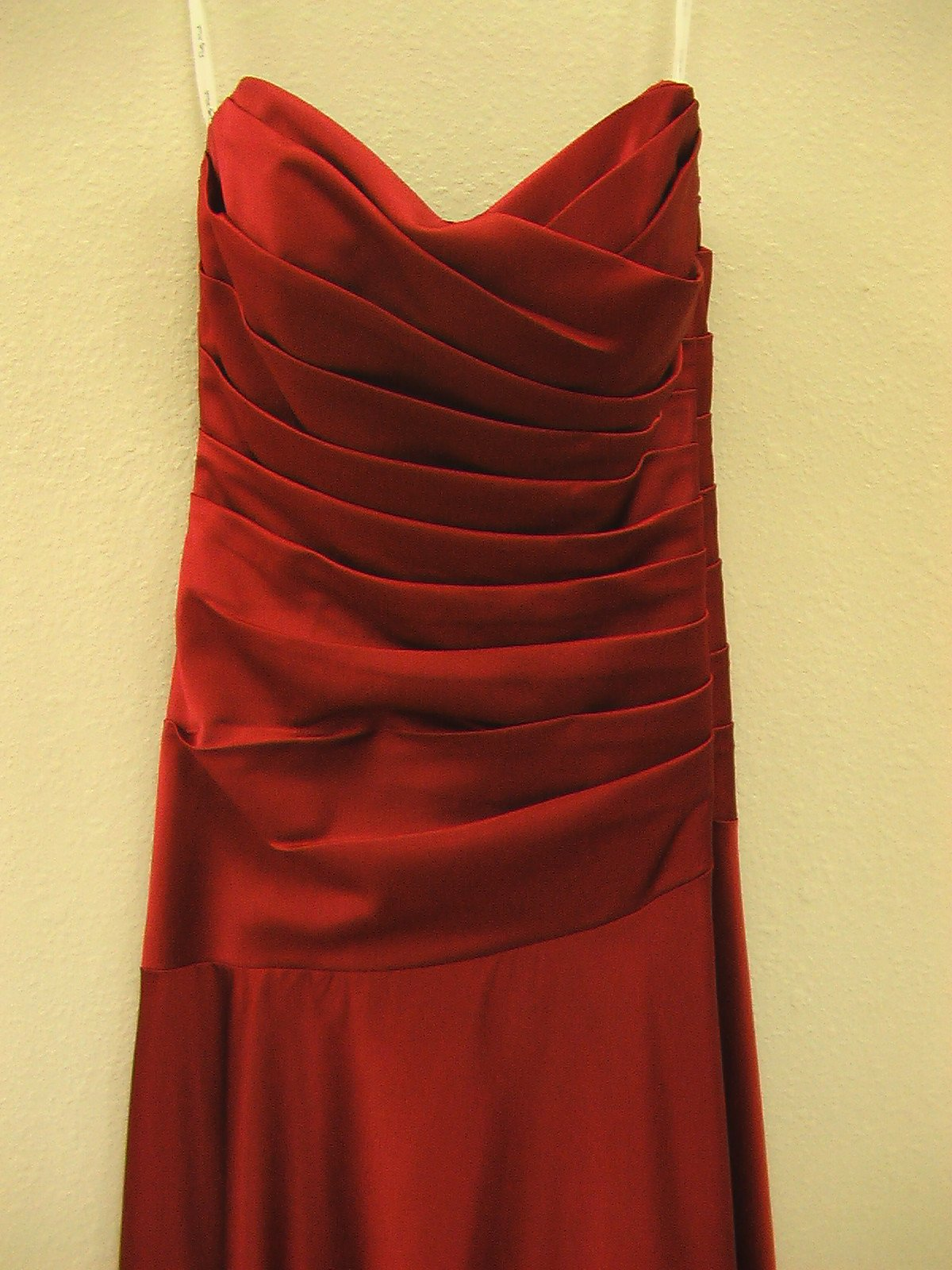 Pretty Maids 22367 Burgundy size 12 In Stock Bridesmaid Dress - Tom's Bridal