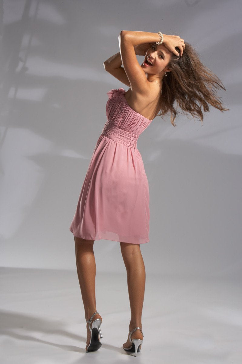Pretty Maids 22391 Desert Rose size 10 In Stock Bridesmaid Dress - Tom's Bridal
