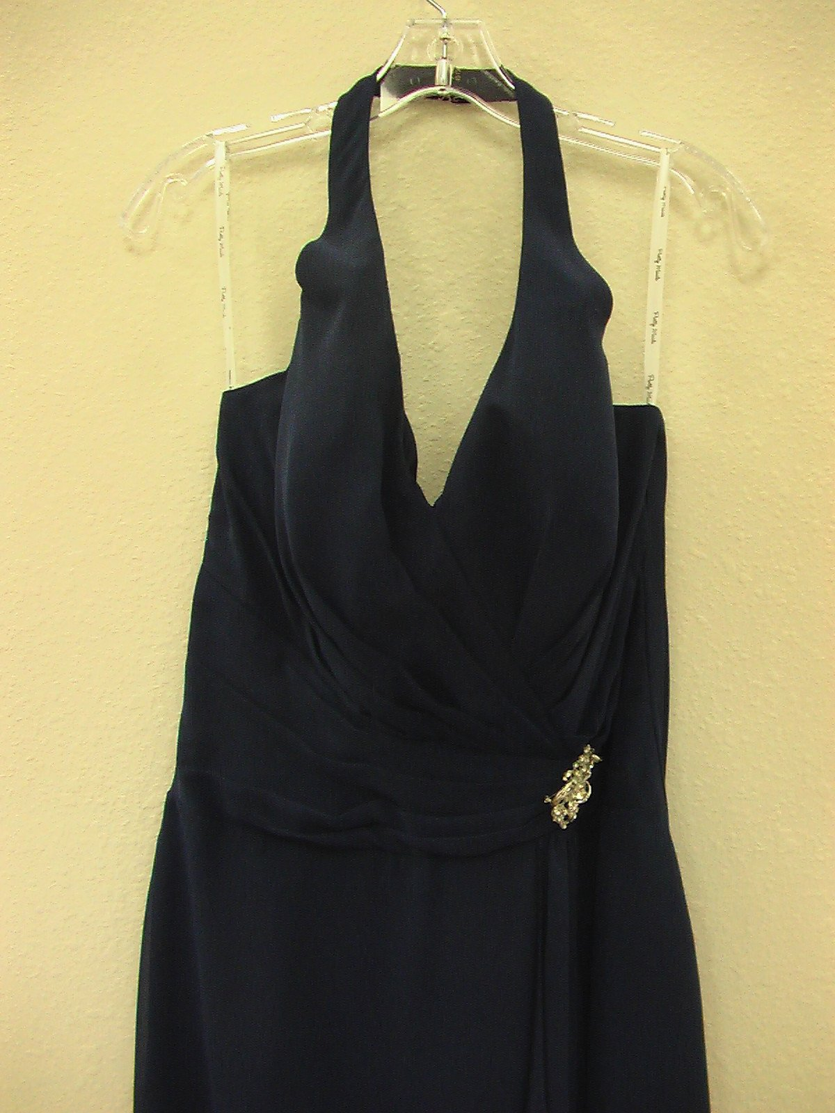 Pretty Maids 22429 Navy size 12 In Stock Bridesmaid Dress - Tom's Bridal