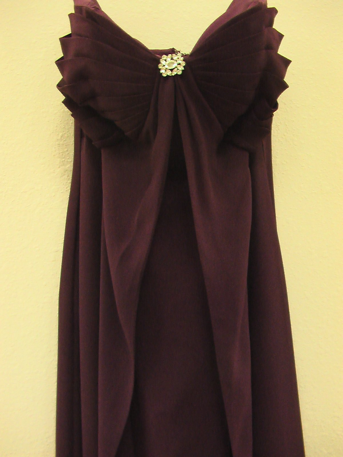 Pretty Maids 22451 Aubergine size 12 In Stock Bridesmaid Dress - Tom's Bridal