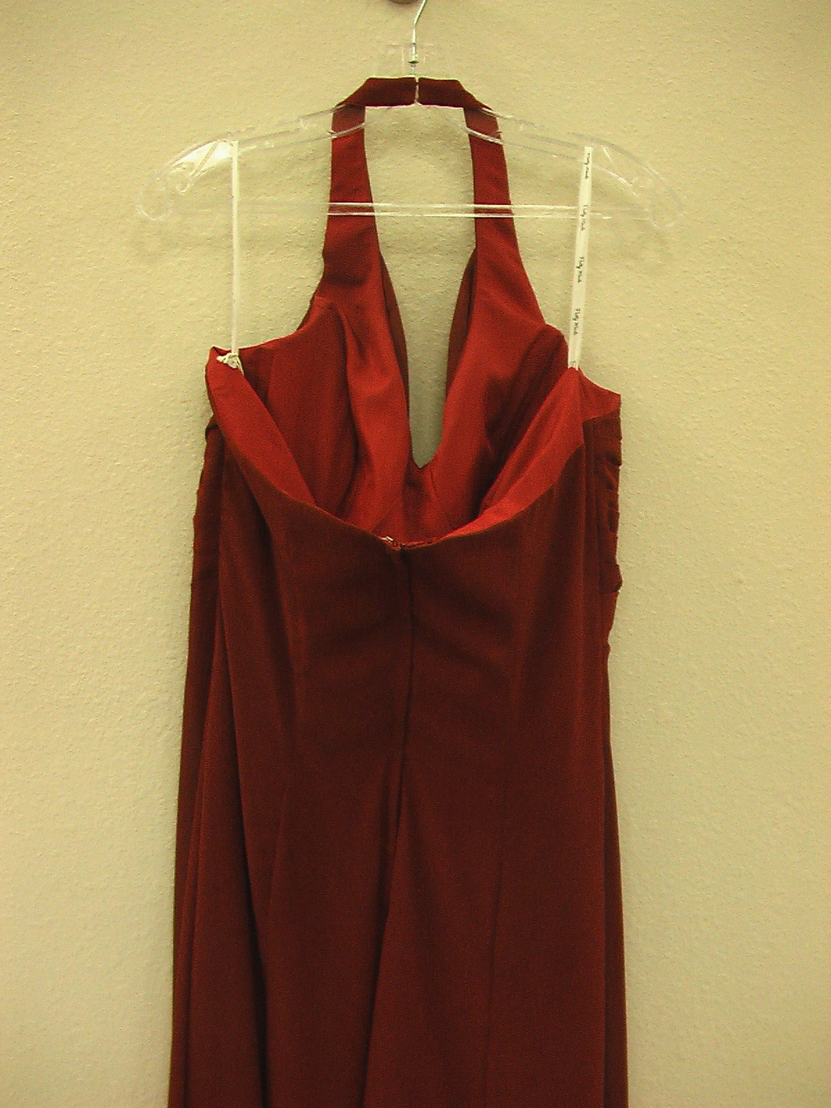 Pretty Maids 22452 Claret size 14 In Stock Bridesmaid Dress - Tom's Bridal