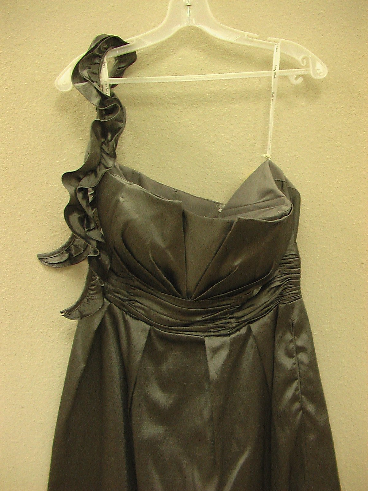 Pretty Maids 22461 Gunmetal size 12 In Stock Bridesmaid Dress - Tom's Bridal