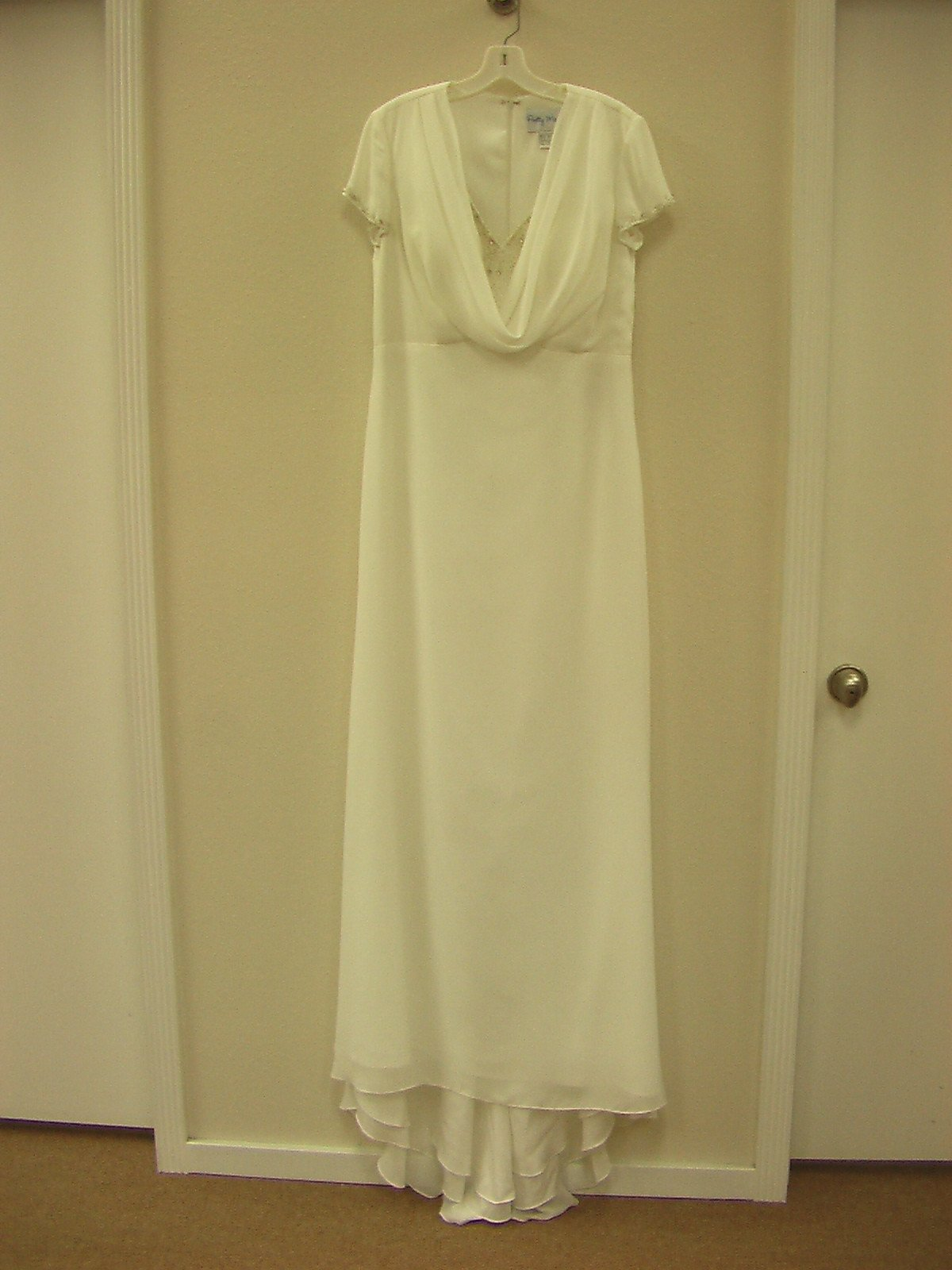 Pretty Maids 22465 Ivory size 14 In Stock Bridesmaid Dress - Tom's Bridal