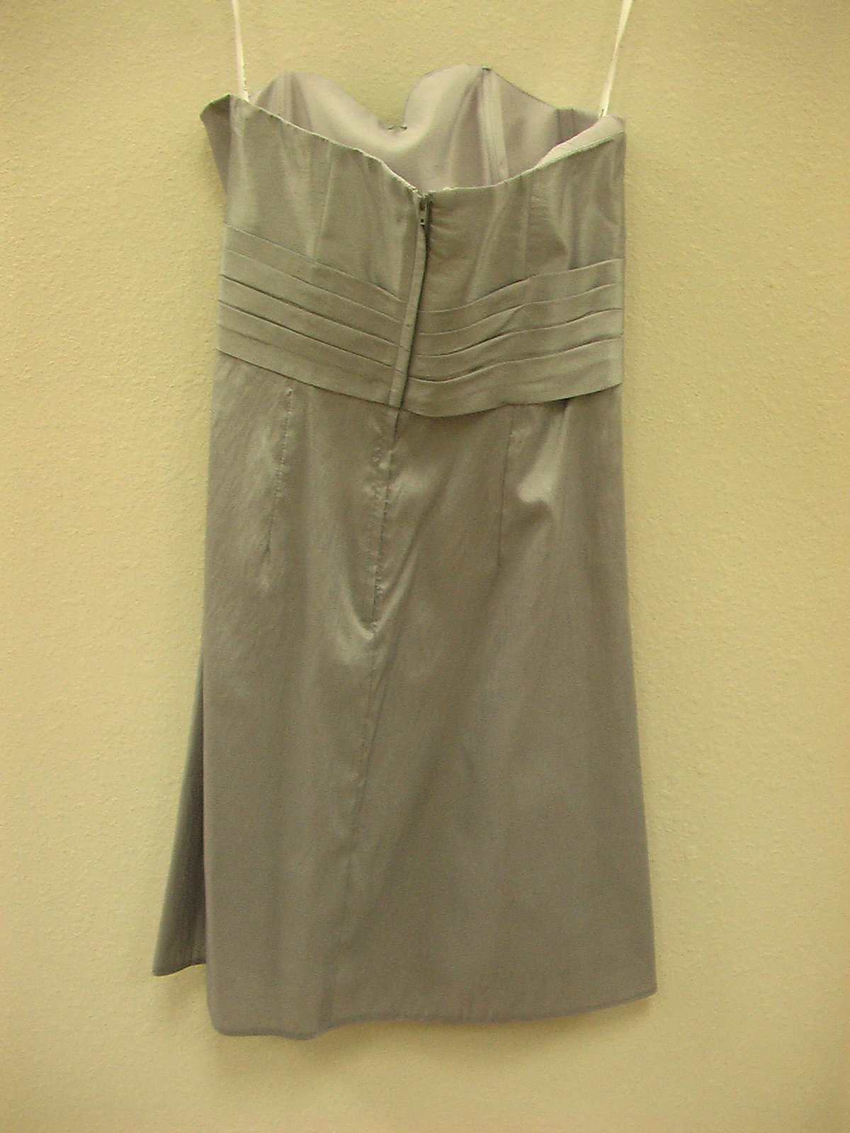 Pretty Maids 22468 Pewter size 12 In Stock Bridesmaid Dress - Tom's Bridal