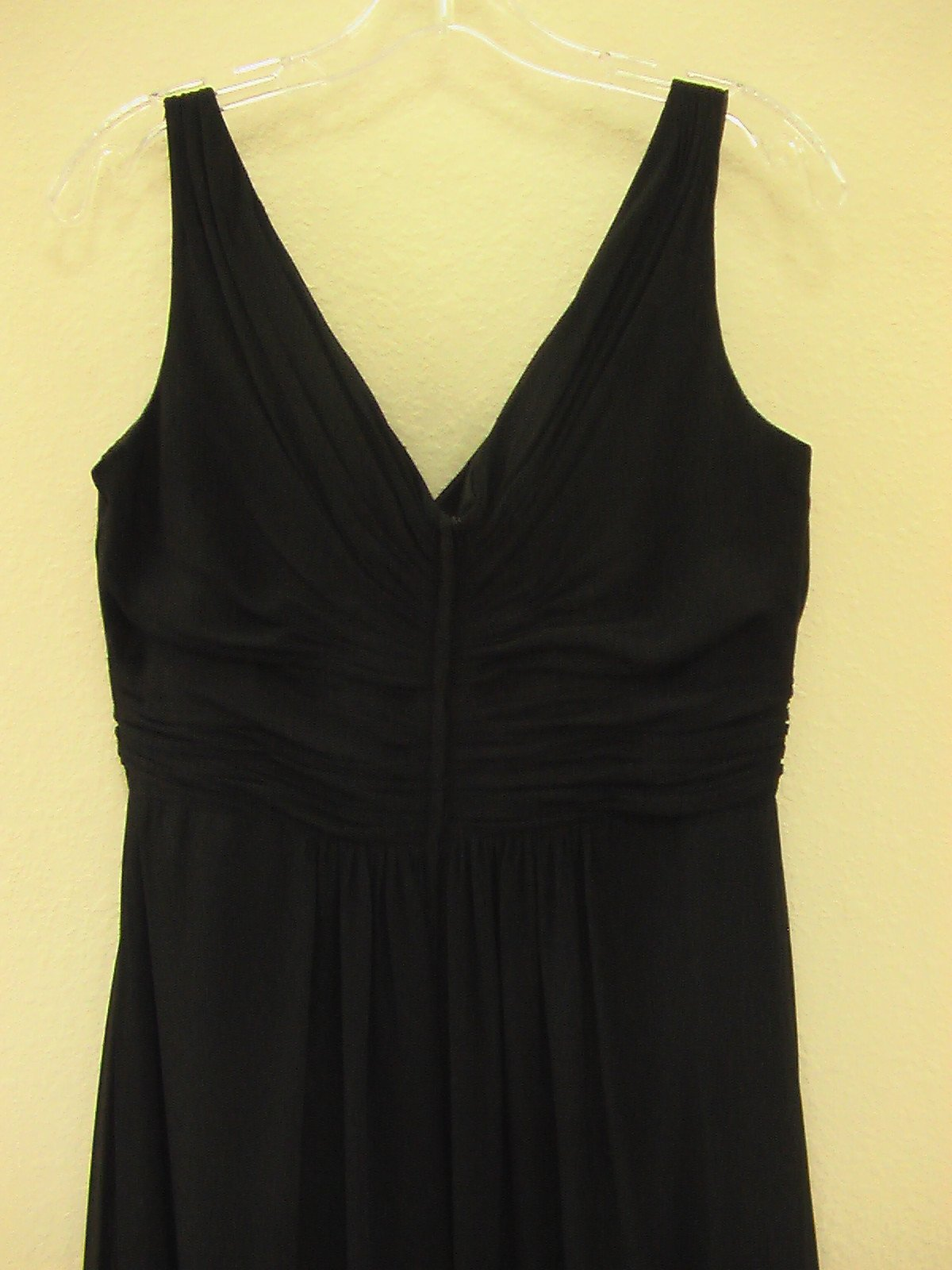 Pretty Maids BM40 Black size 12 In Stock Bridesmaid Dress - Tom's Bridal