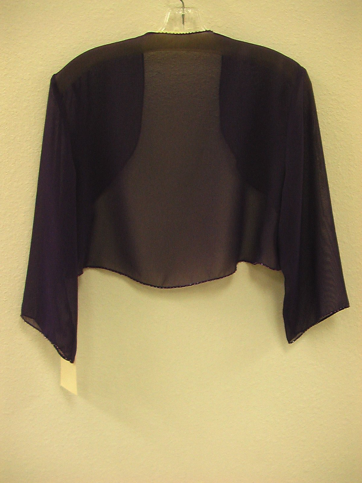 Pretty Maids J021 Grape size 16 In Stock Bridesmaid Jacket - Tom's Bridal