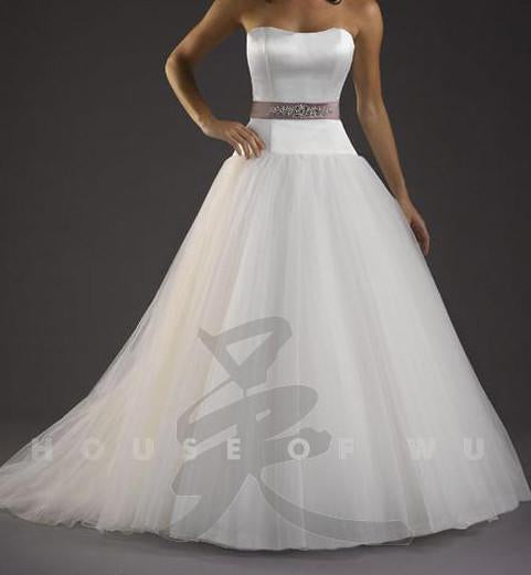PC 18731 Ivory/Silver size 8 In Stock Wedding Dress - Tom's Bridal